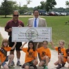 Jeff Nehila, Rep. Sam Yingling, and Local Brownie Troop 40351